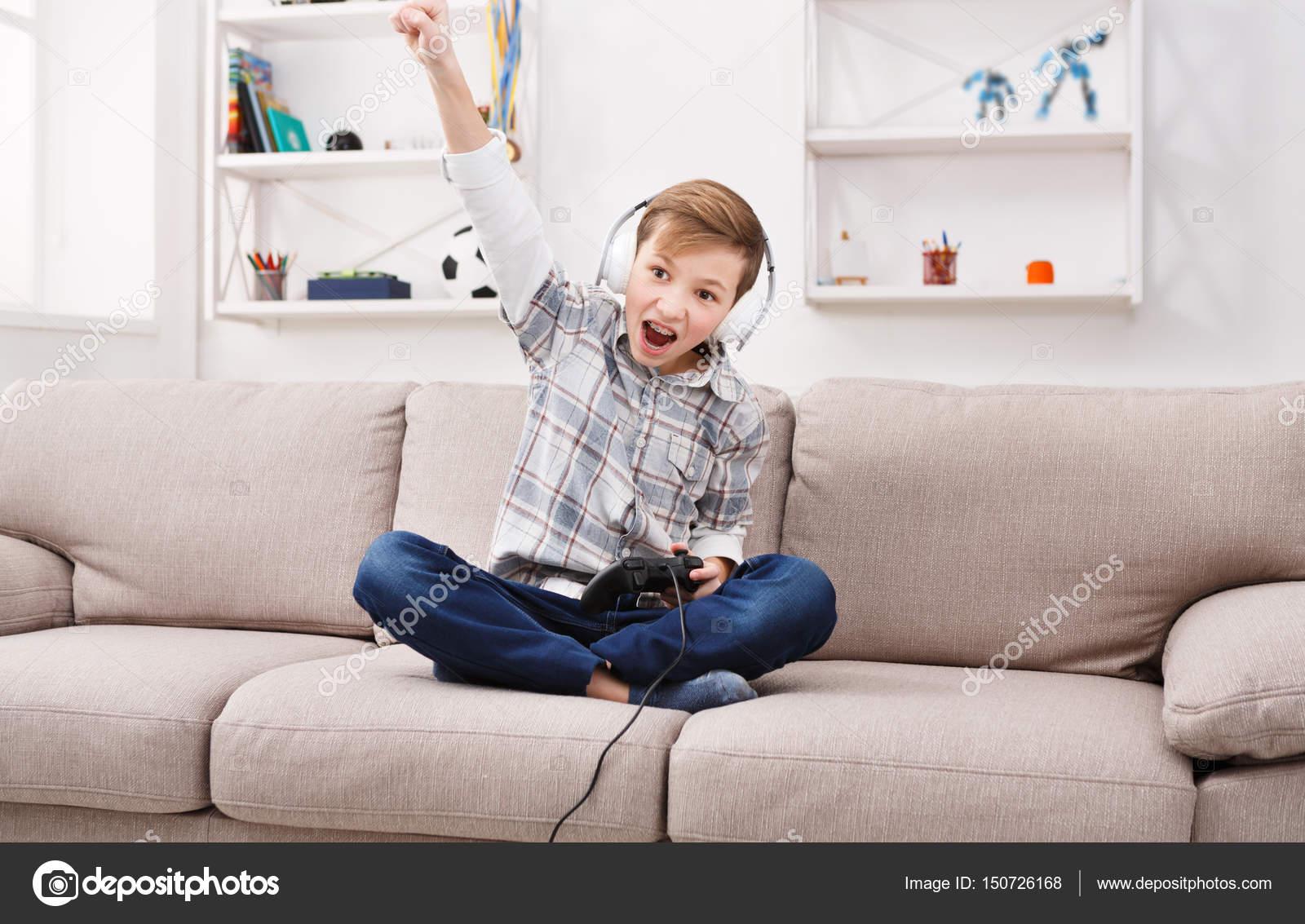 Teen boys at play