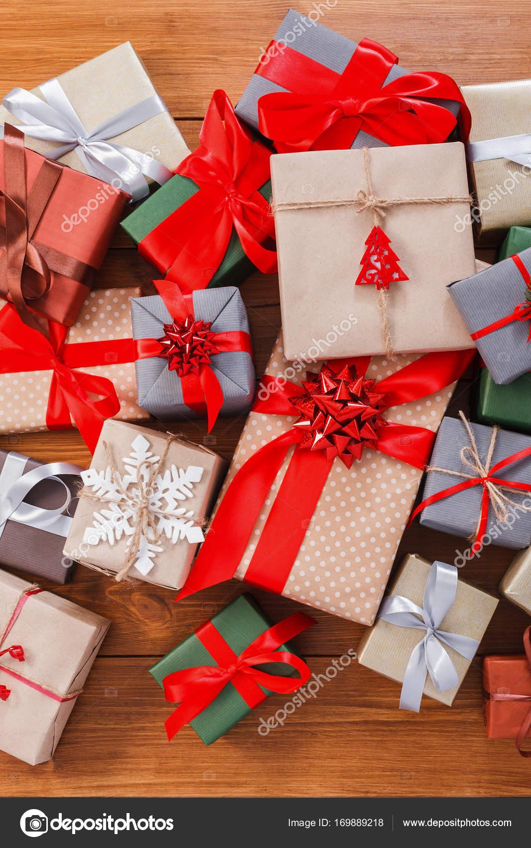 Scatole Per Regali Di Natale.Un Sacco Di Scatole Regalo In Legno Regali Di Natale In Carta