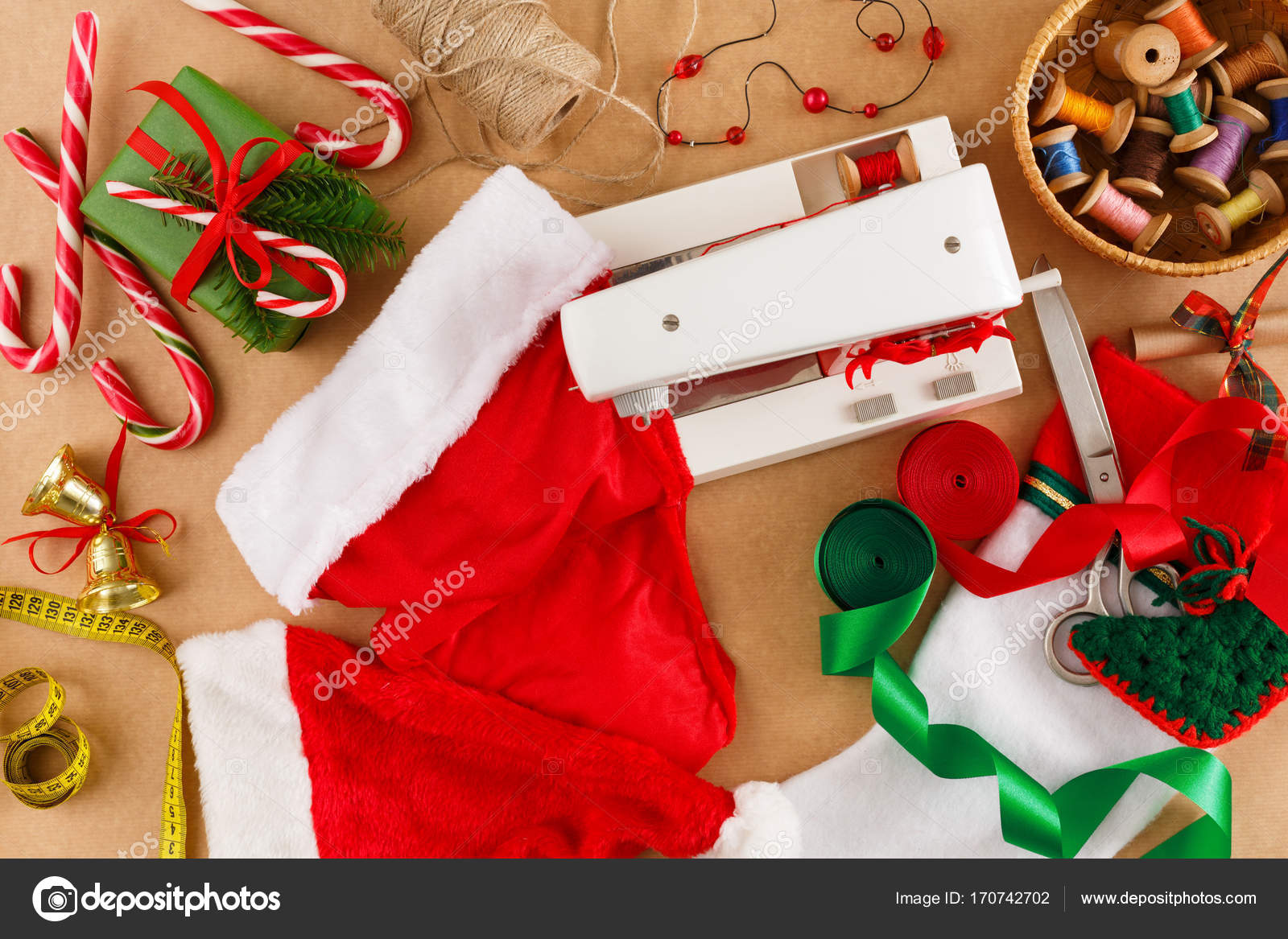 Creative prepare for christmas. Details for making creative present ...