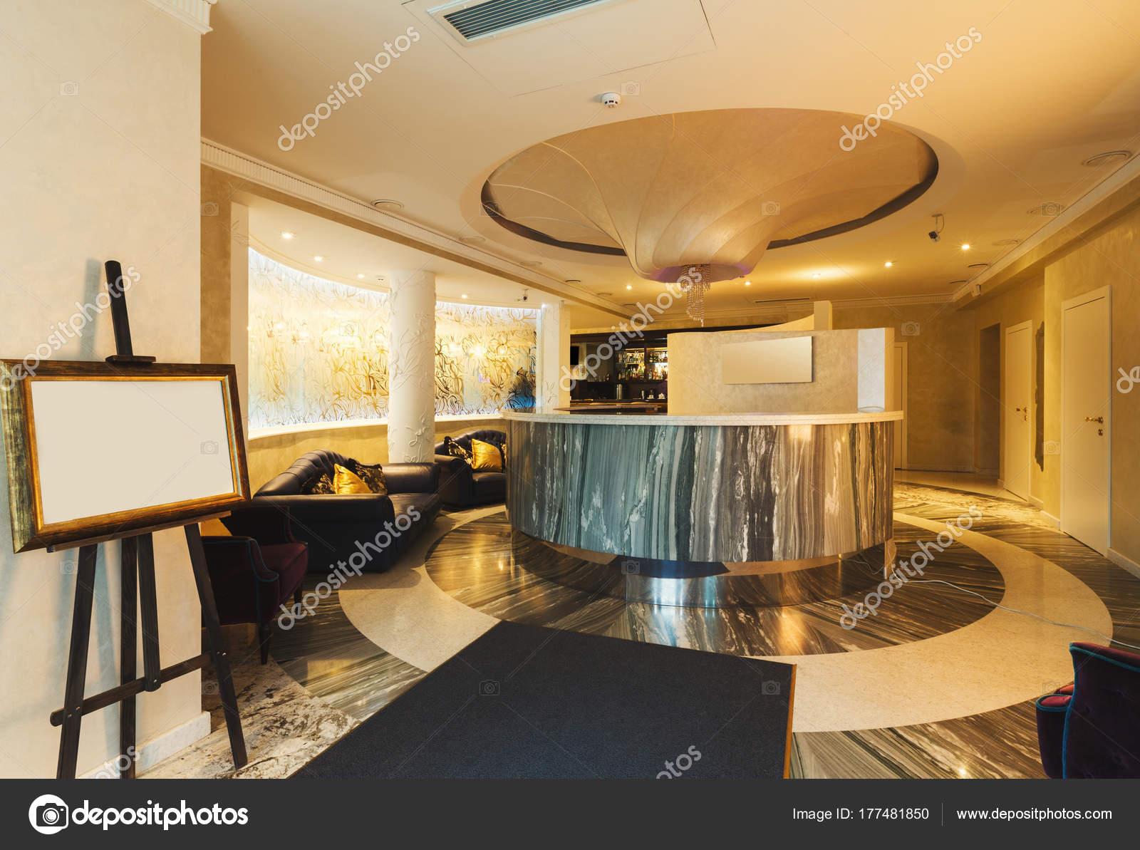 Innenraum der moderne Rezeption — Stockfoto © Milkos #177481850