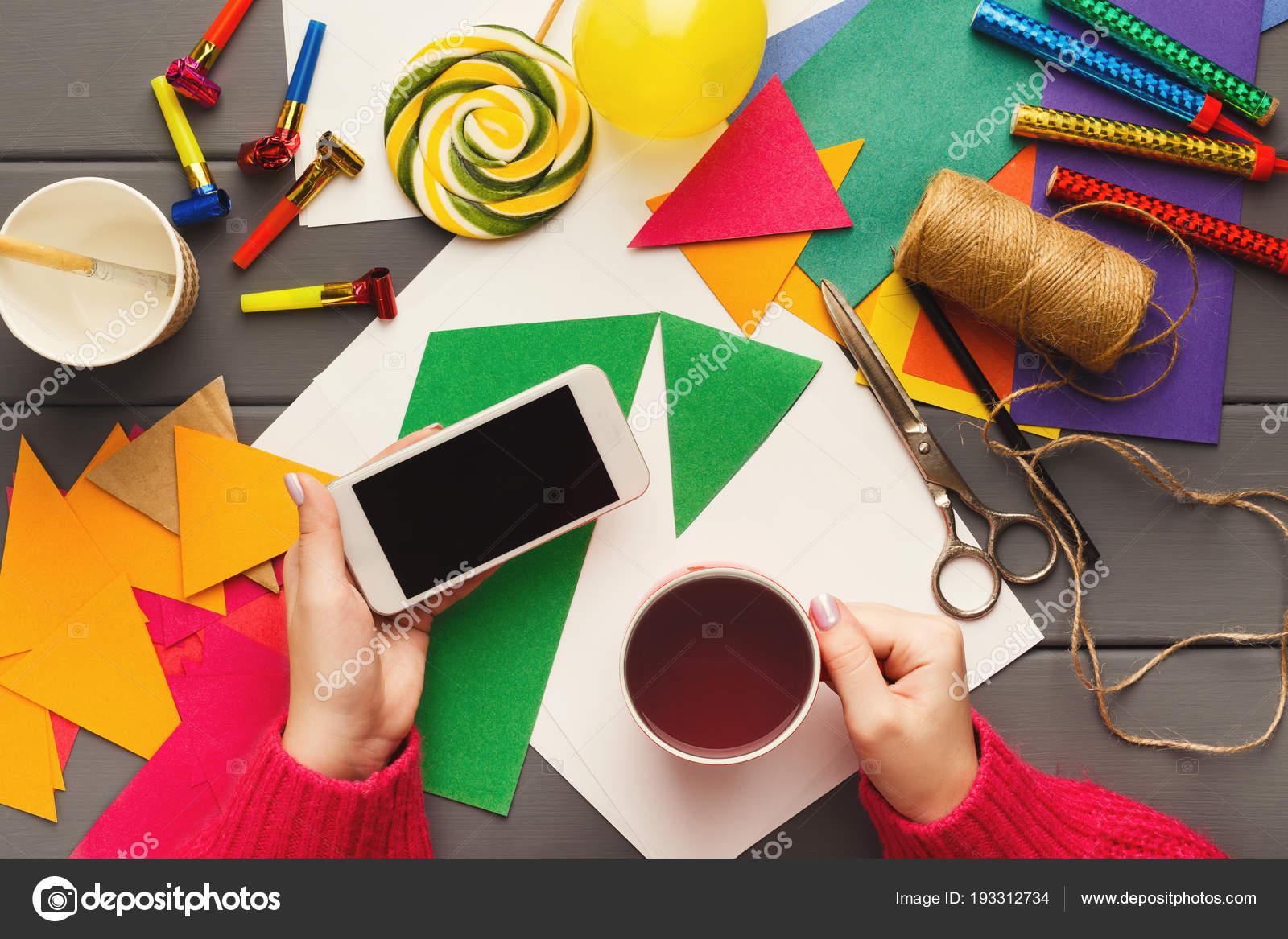 Decorazioni Fai Da Te Per Feste : Sfondo vacanza fai da te decorazioni di festa di compleanno