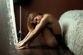 Fotografie nackte junge Frau