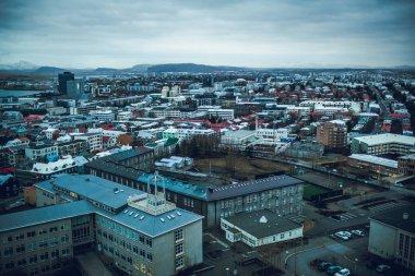 Reykjavik city architecture