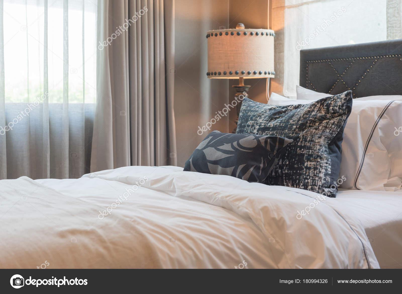 Single Bedroom Set Pillows Bed Interior Decoration Design Concept Stock Photo C Khongkitwiriyachan 180994326