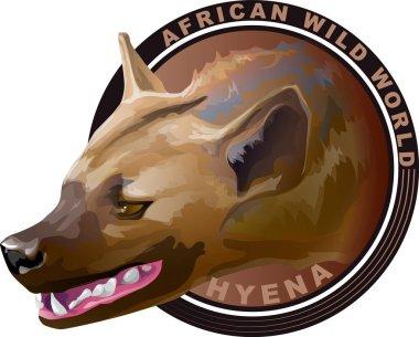 African predatory animal is hyena