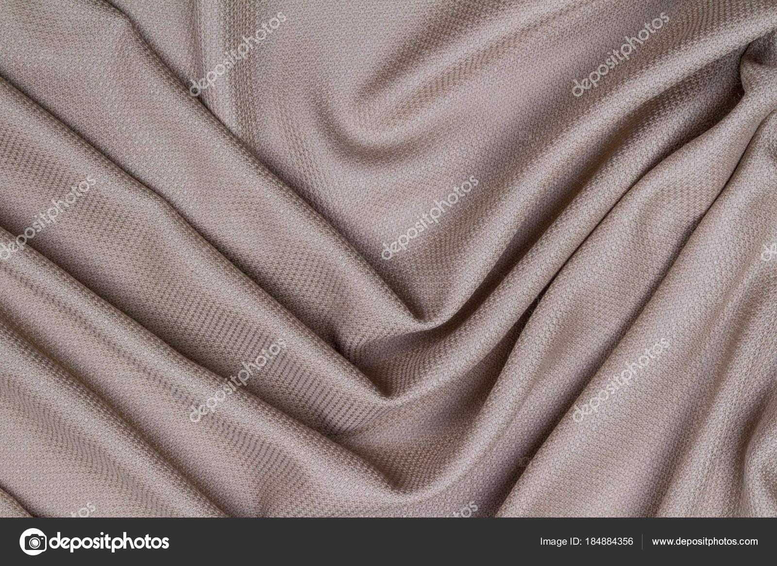 d72b6bf073e1 Lilla lana stropicciata tessuto stropicciato con le onde, sfondo  spiegazzato tissu — Foto di ...