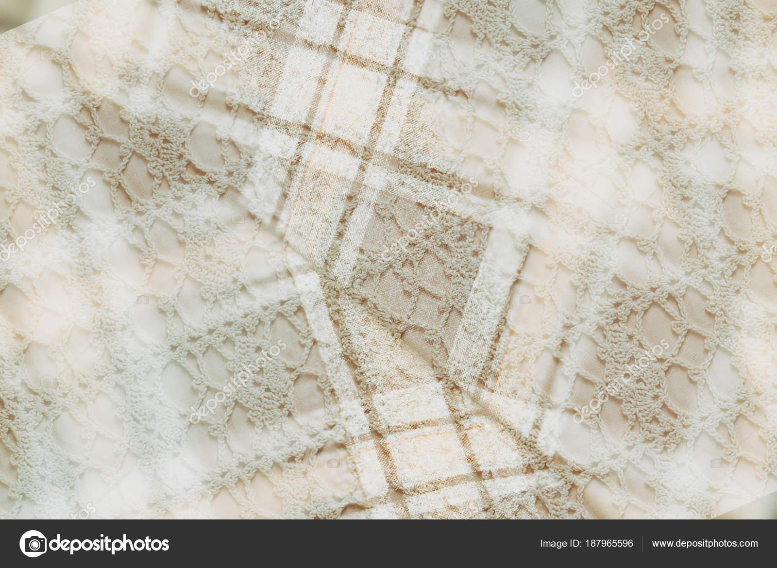 Fondo Textiles Estilo Vintage Franela Algodón Célula Clásico Vintage ...