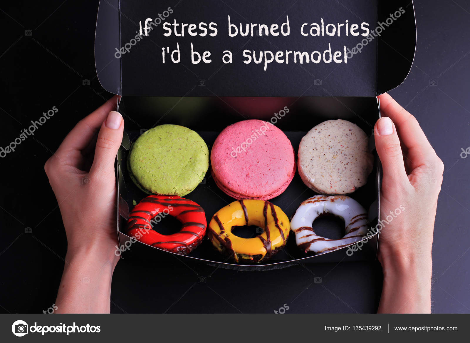 Funny Inspiration Motivation Quote If Stress Burned Calories Id Be