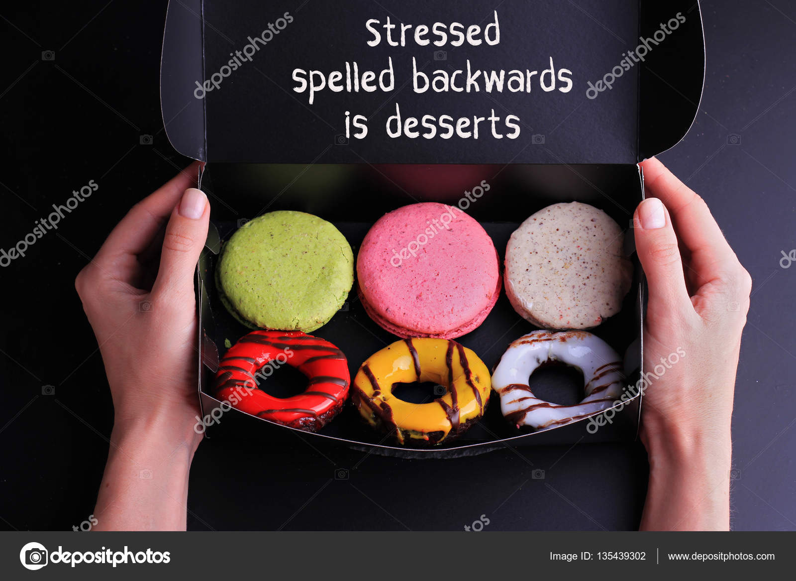 Inspiration Motivation Quote Stressed Spelled Backwards Is Desserts