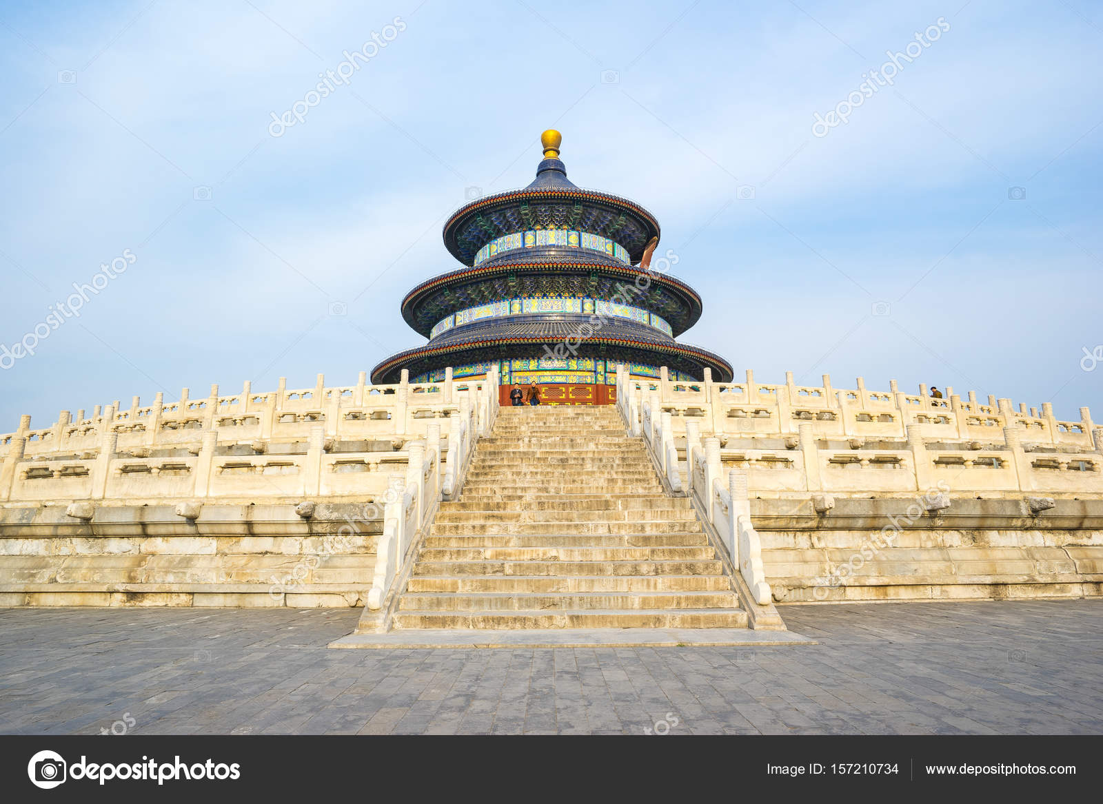 Temple of Heaven in Beijing capital city in China — Stock Photo