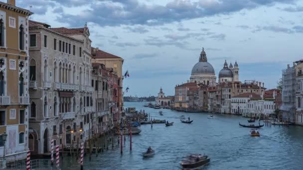 Časová prodleva videa Benátek panorama v Itálii.