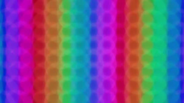 Vertikální duha bokeh světla efekt pozadí pro party