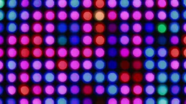 Absztrakt színes bokeh fények háttér party