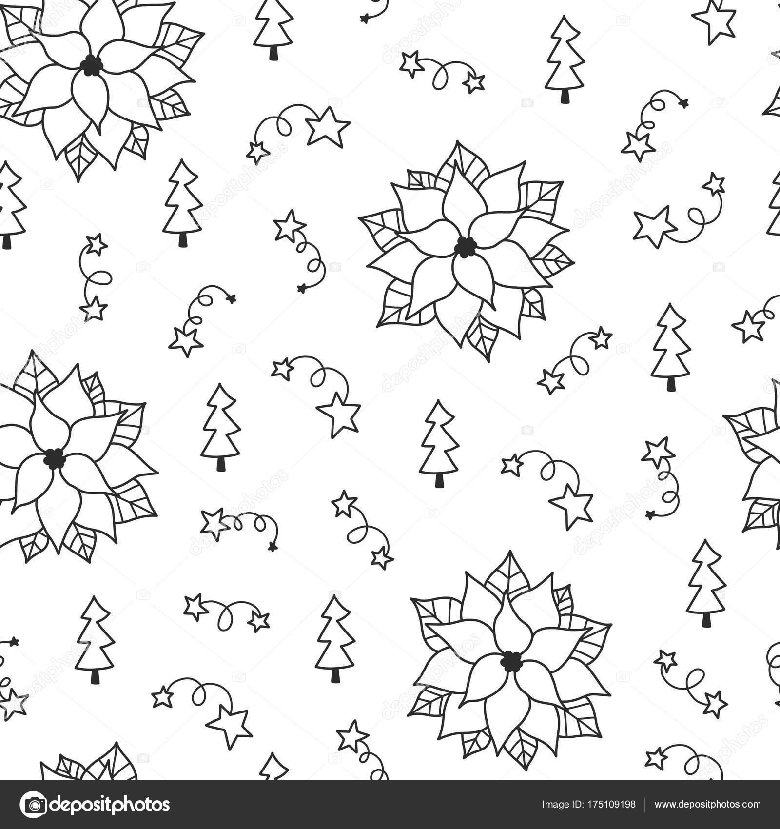 patrón sin costuras de Navidad — Vector de stock © Qilli #175109198