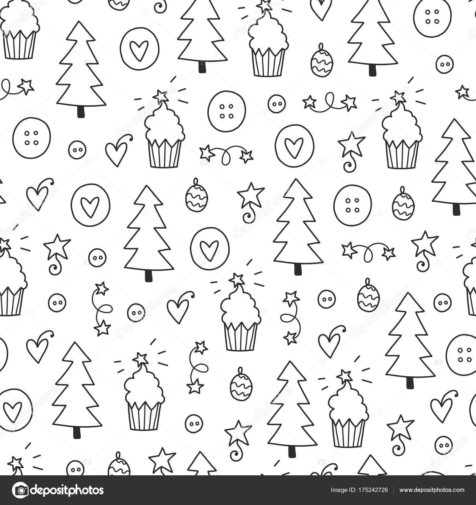 patrón sin costuras de Navidad — Vector de stock © Qilli #175242726