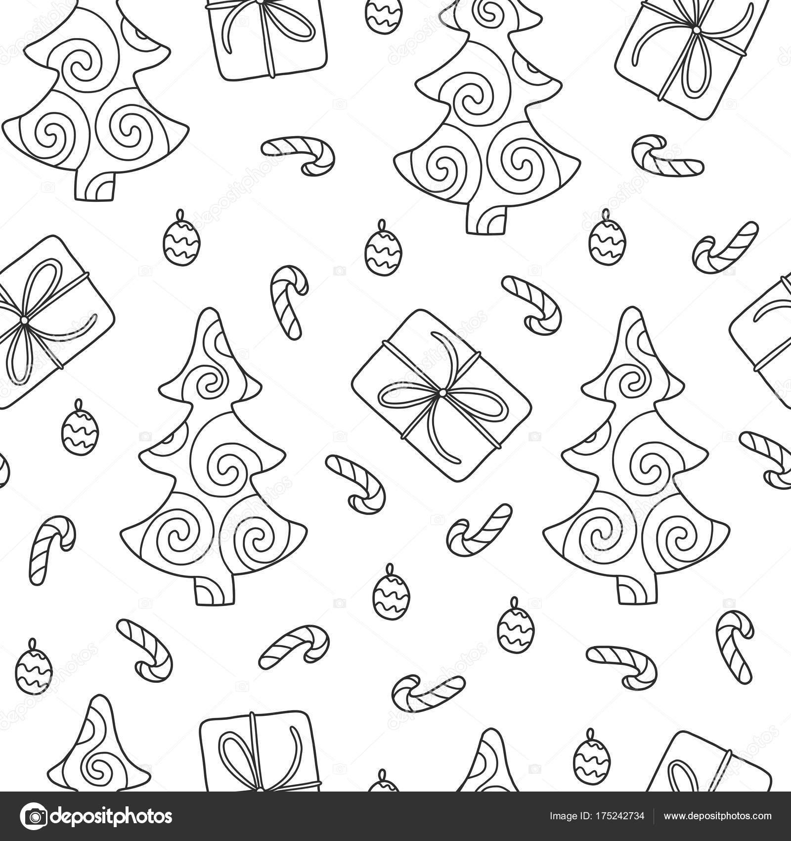 patrón sin costuras de Navidad — Vector de stock © Qilli #175242734