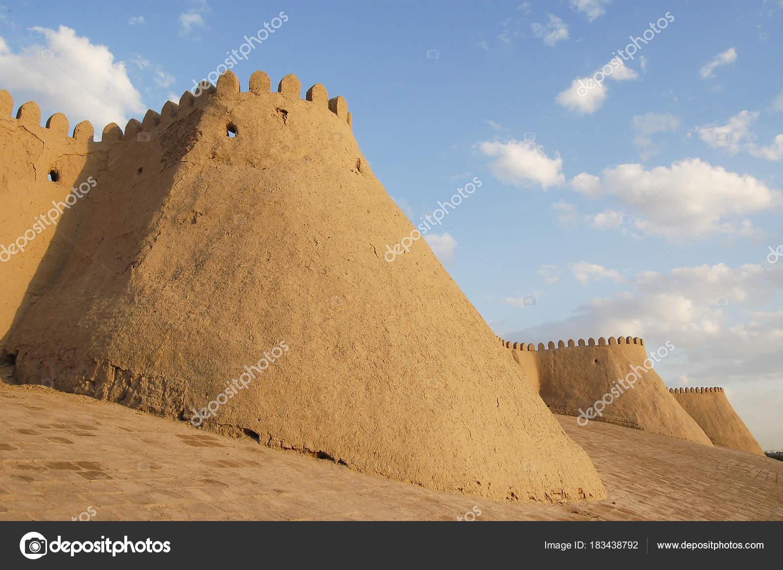 As Paredes Antigas E Bonitas De Khiva Stock Photo Tecnico 183438792 -> Fotos De Paredes Bonitas