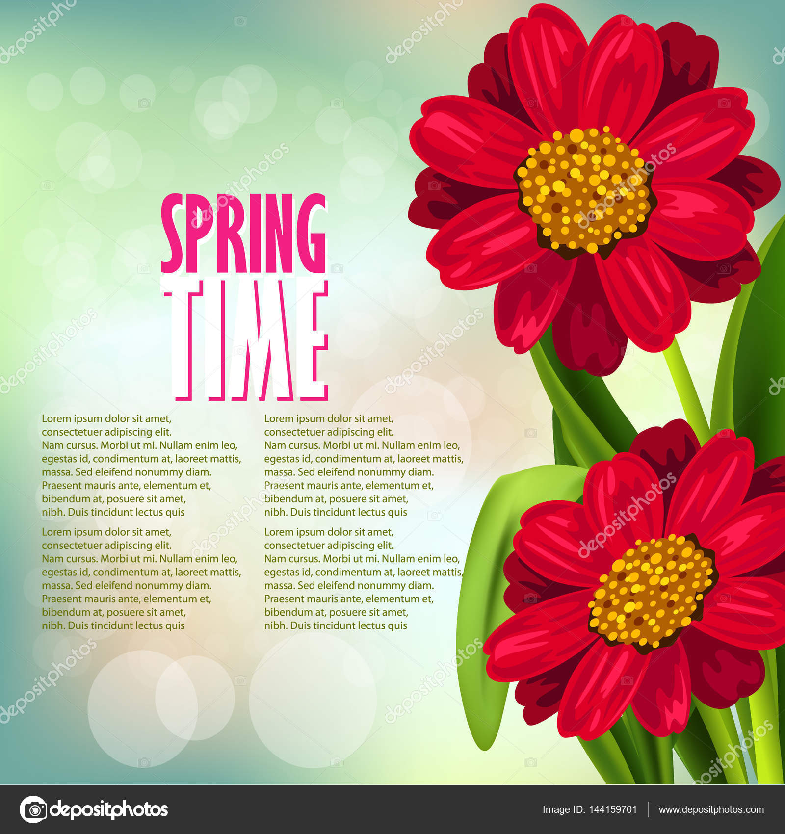 Fresh spring flowers stock vector vedvidarts 144159701 fresh spring flowers stock vector mightylinksfo