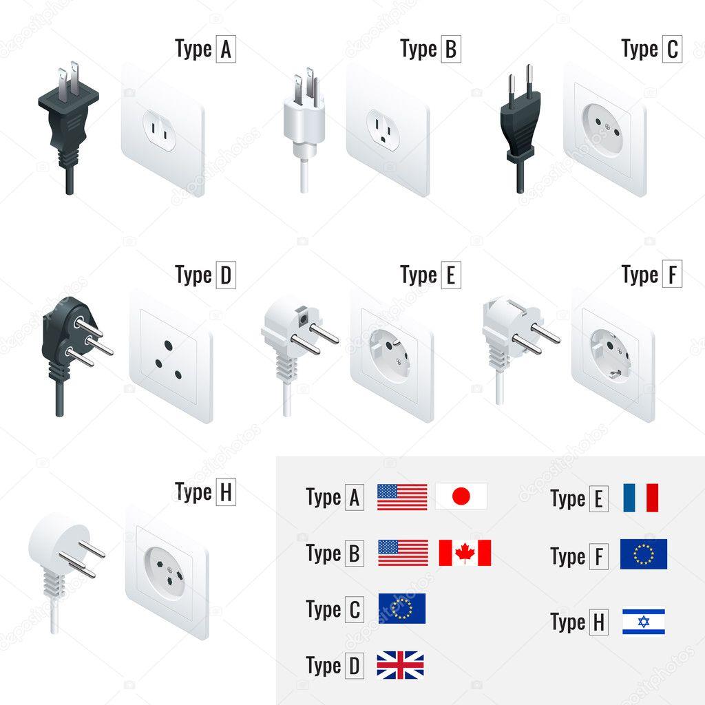 stecker typen typ a typ b typ c typ d typ e typ f. Black Bedroom Furniture Sets. Home Design Ideas