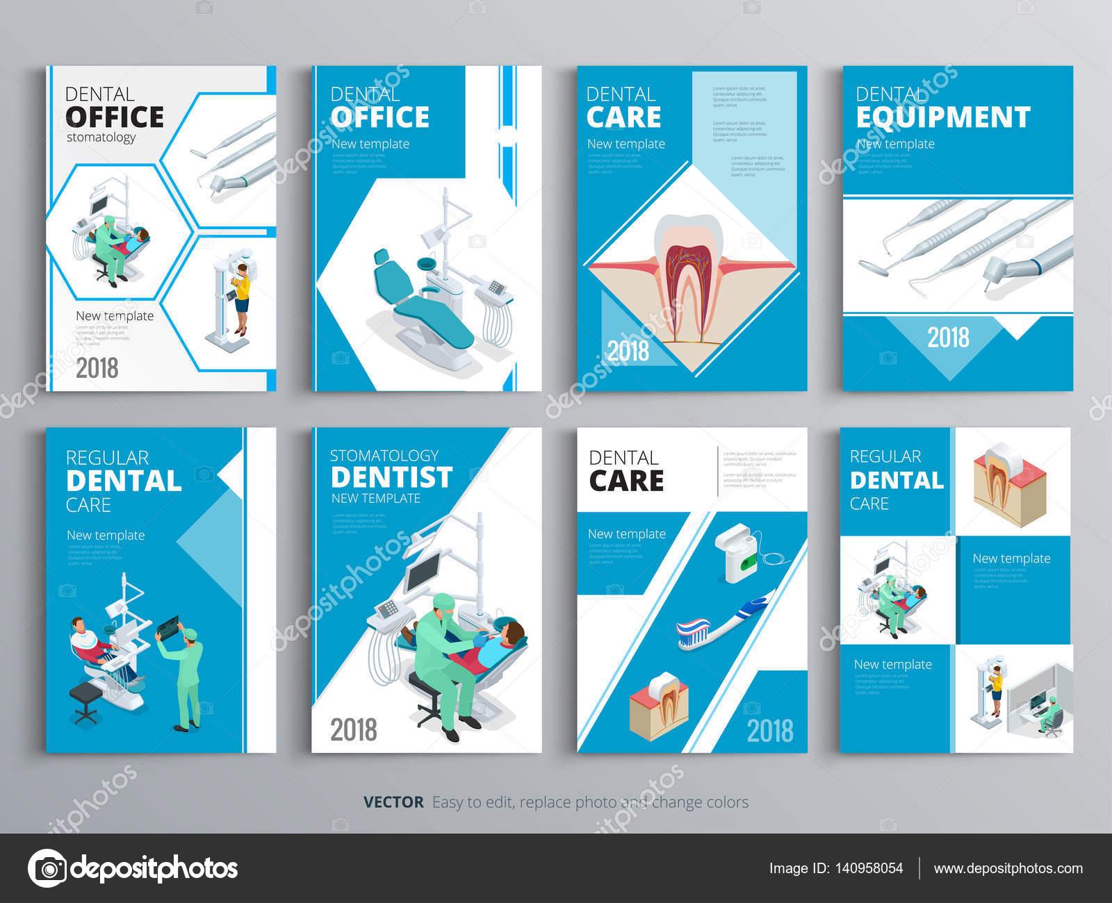 Flyer für Gesundheit und medizinische Konzept. Hygiene-Vorlage von ...