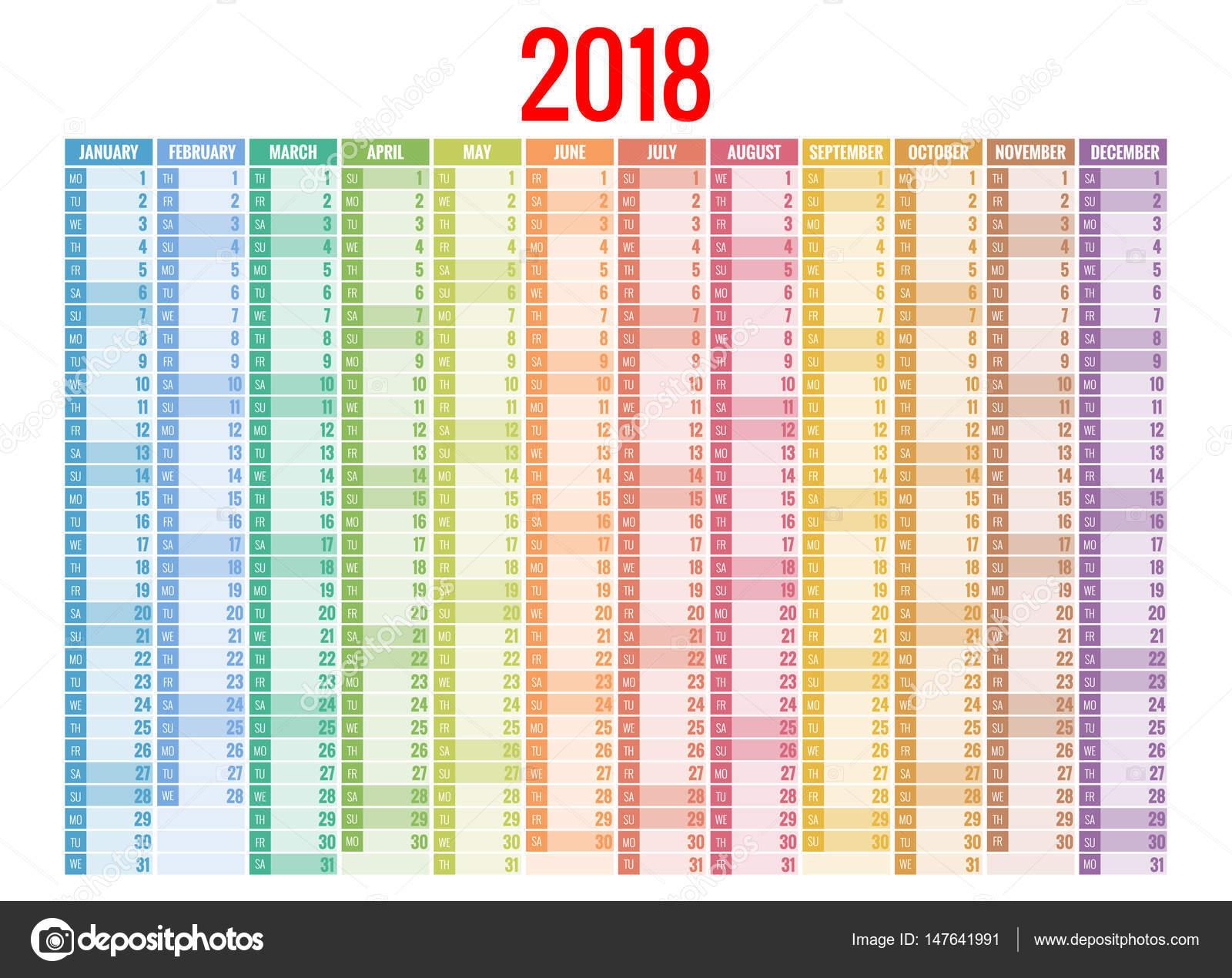 2 week calendar template