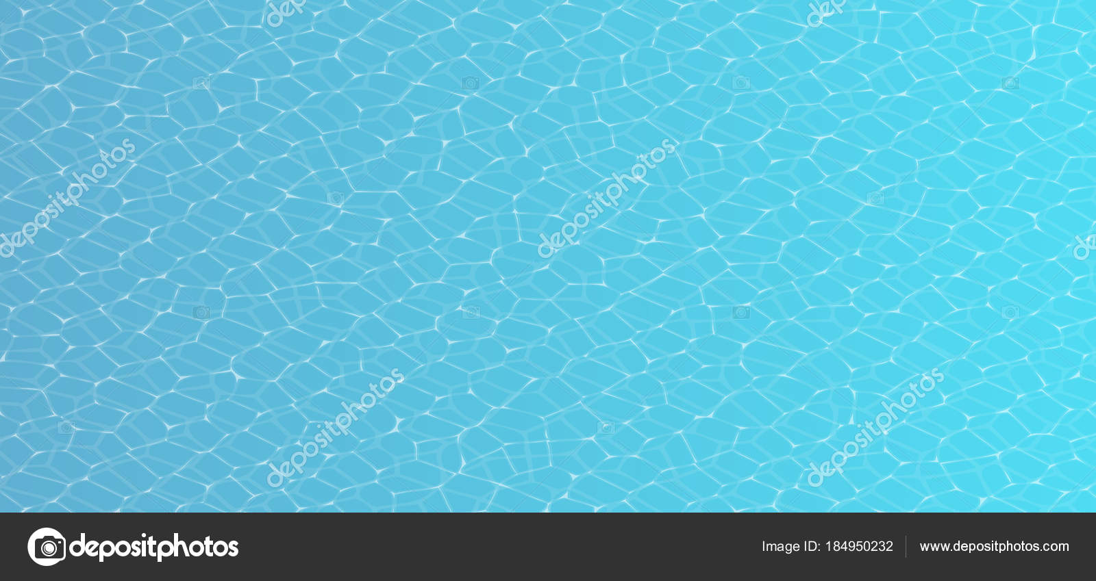 Vector Caustic of Pool Water Seamless Texture Swimming pool