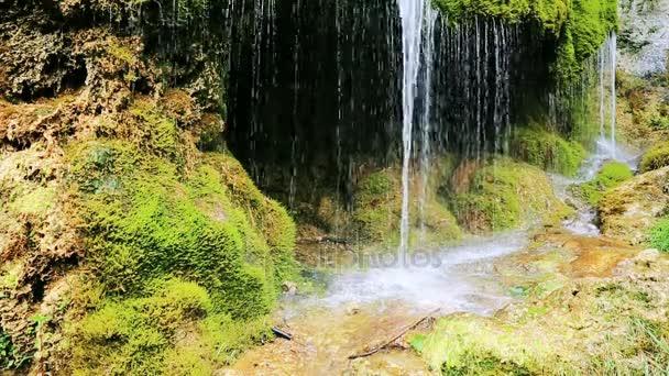 Německý vodopády na jaře .