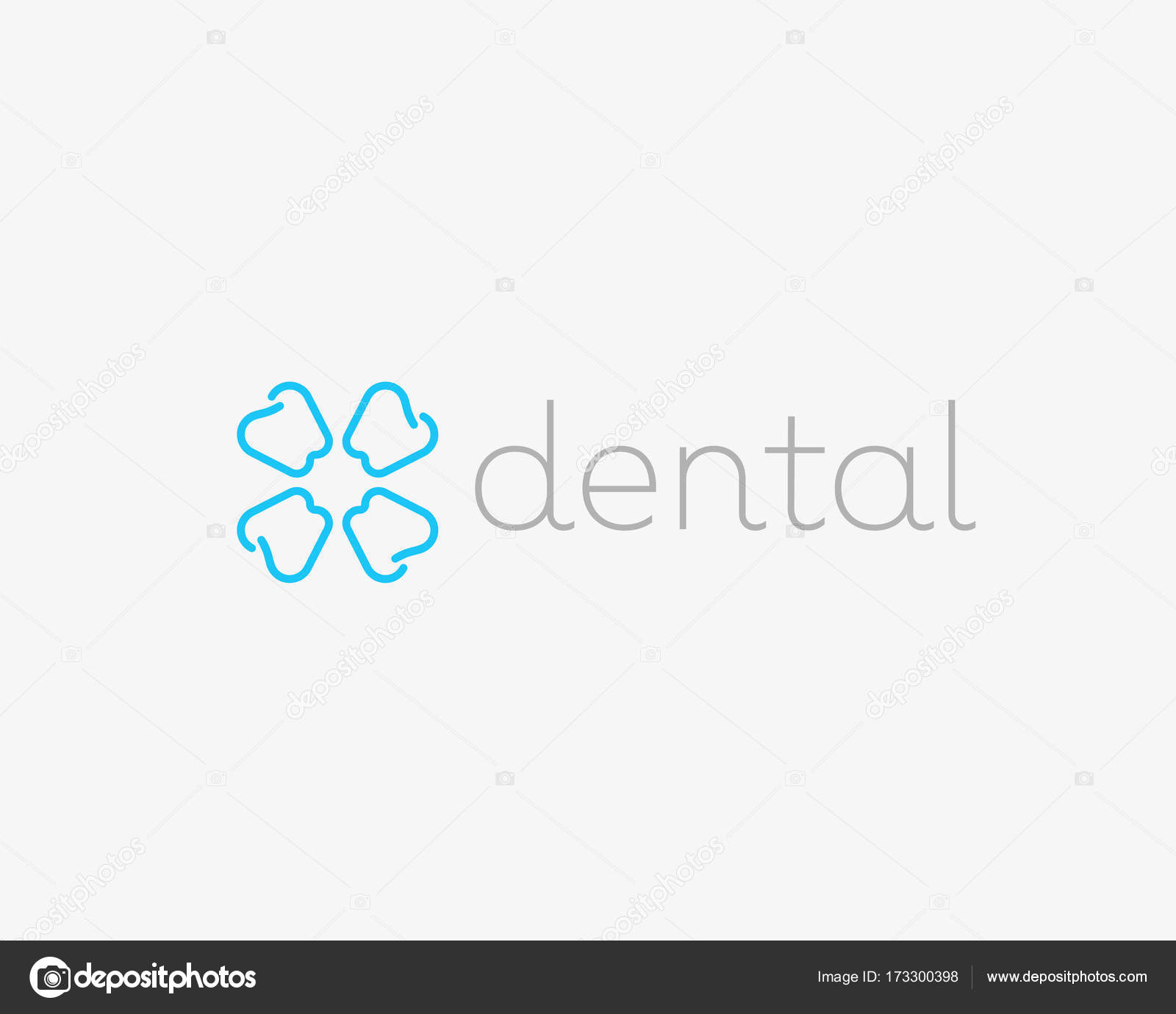 Dentist logo design tooth linear vector logotype dental clinic dentist logo design tooth linear vector logotype dental clinic flower symbol icon vector by iamguru biocorpaavc Choice Image