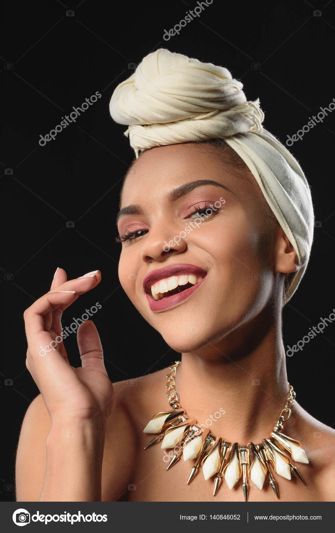 hals afrikanska flickor