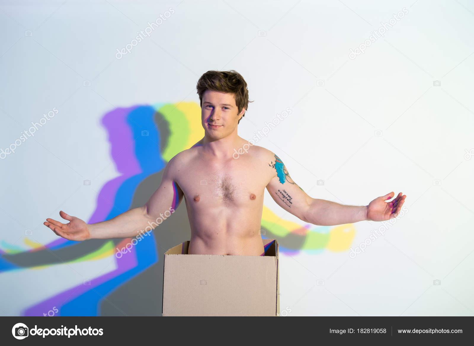 modelli di fitness maschili nude