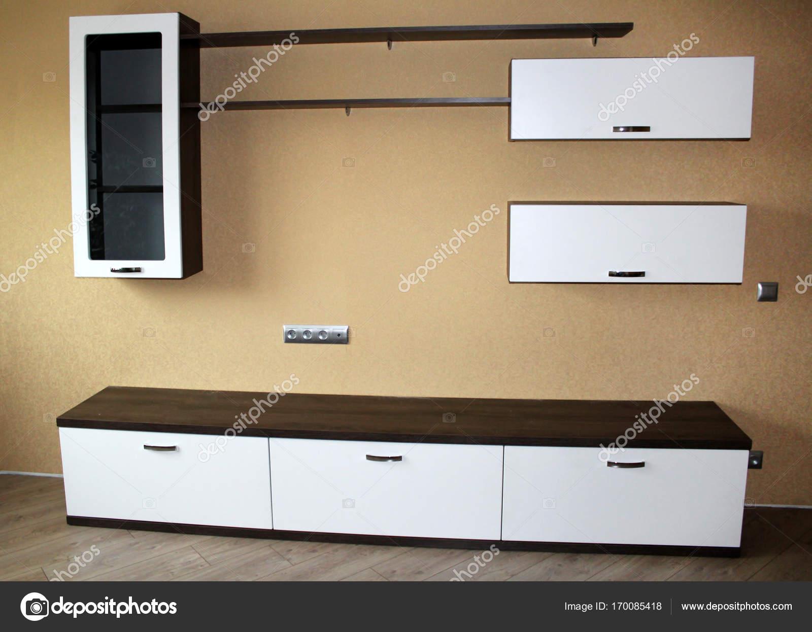 Woonkamer Houten Meubels : Houten meubels in de woonkamer interieur u stockfoto markasia