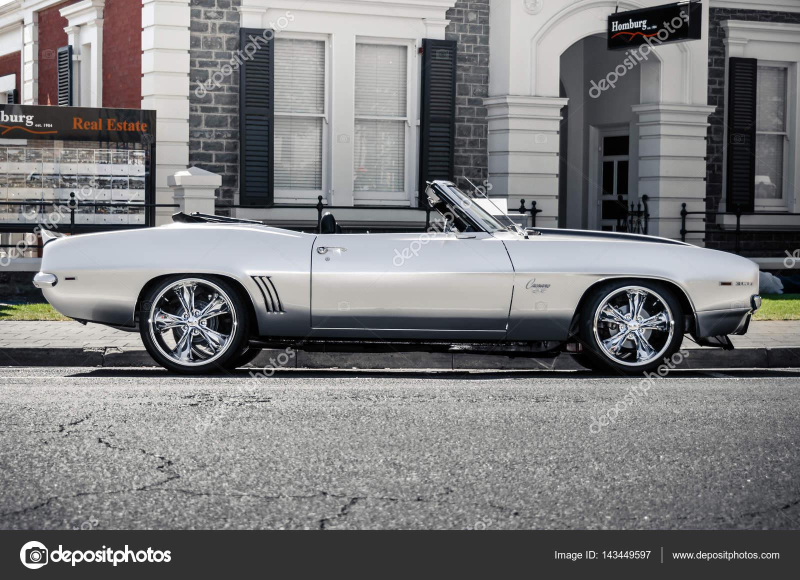 1968 Chevrolet Camaro Ss 350 Convertible Redaktionelles Stockfoto