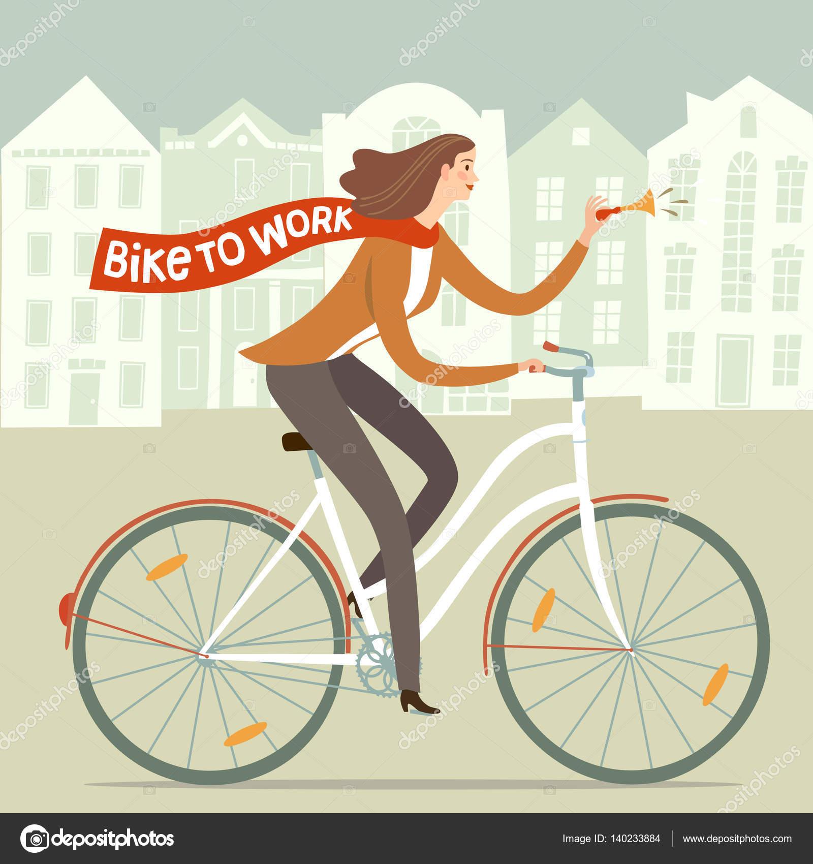 Resultado de imagem para dia trabalhador com bikes cartoon