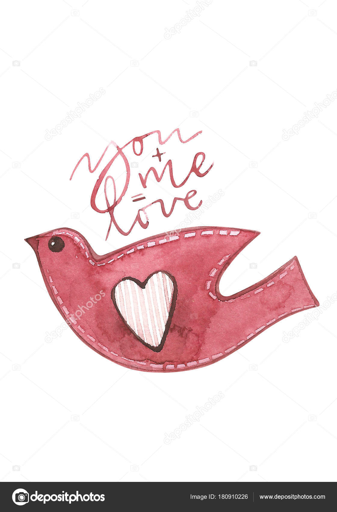 Valentines day cards with bird you and me are equal to love valentines day cards with bird you and me are equal to love romantic quote for design greeting cards tattoo m4hsunfo