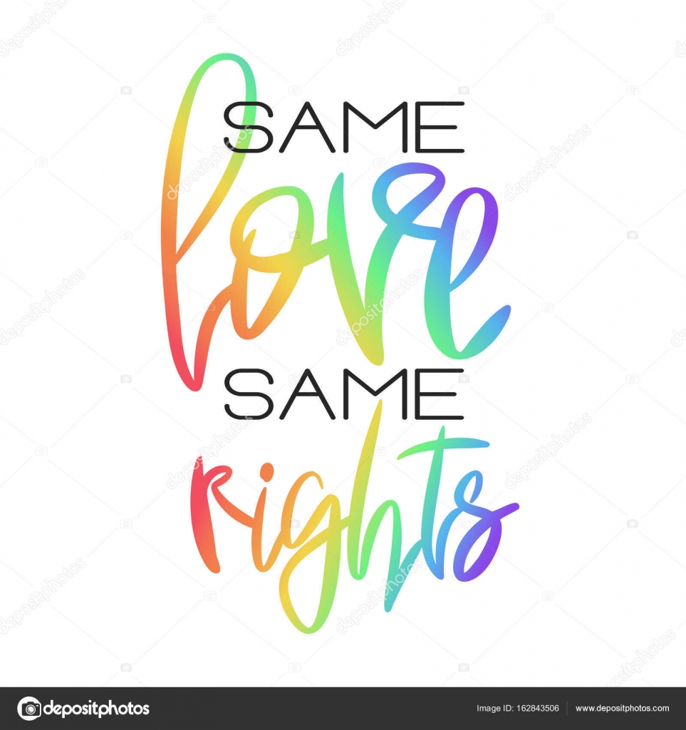 conceptual poster with rainbow lettering stock vector ivanskaia