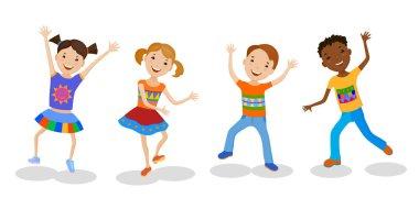 Happy Dancing Kids