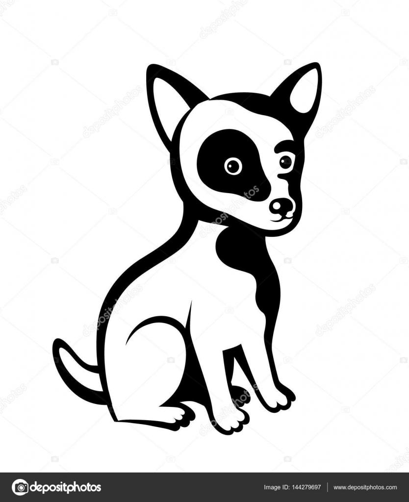 Dibujos Perritos En Blanco Y Negro Perro De Dibujos