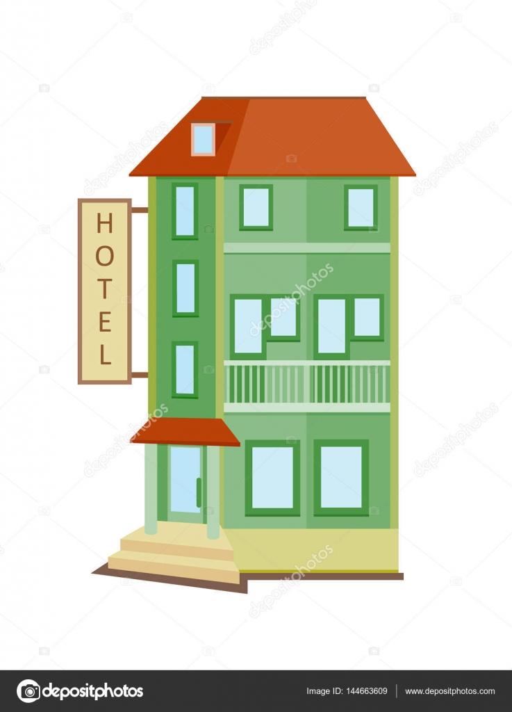 dibujos animados hotel