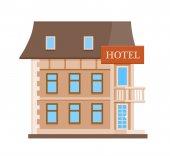 Fotografia Icona del fumetto hotel