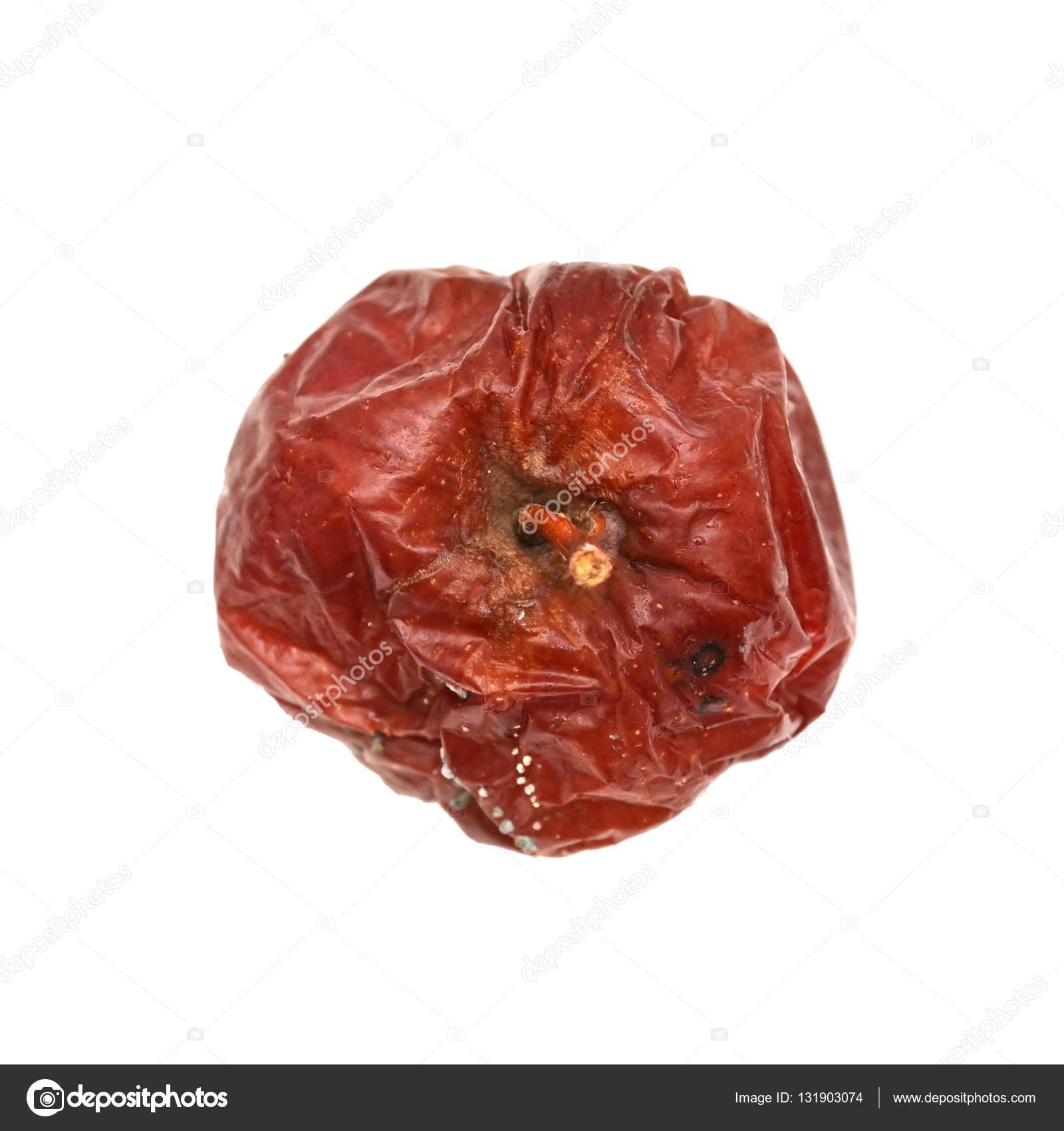 Rojo manzana podrida, natural color y textura — Foto de stock ...