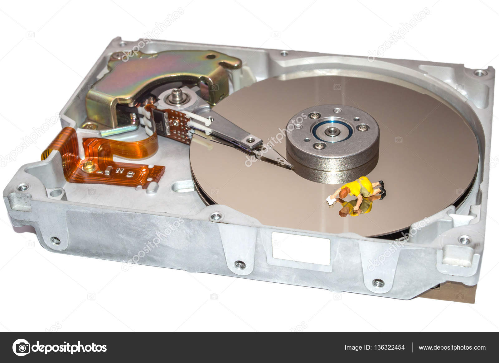 how to clean hard disk