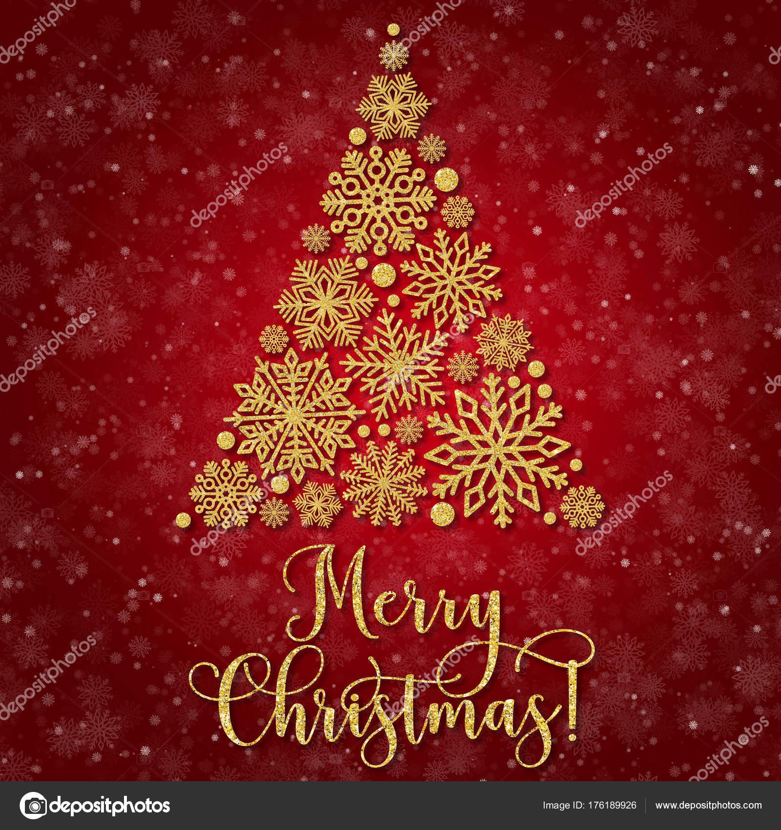 Frasi Albero Di Natale.Cartolina D Auguri Con Albero Di Natale Astratto Su Sfondo