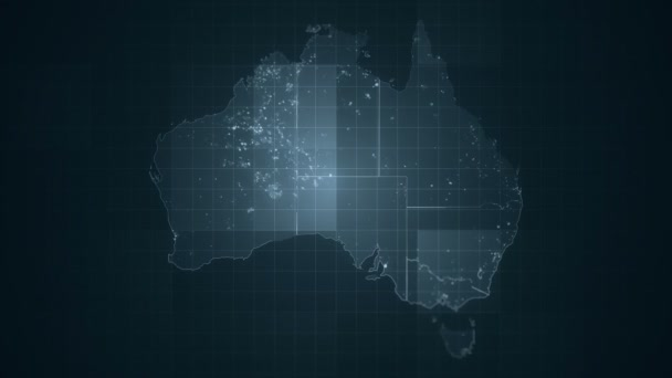 Australia Map Grey.Global Grey Australia Map Loop Stock Video C Shilovaoksana 153166550