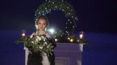 Vestido blanco noche de entierro