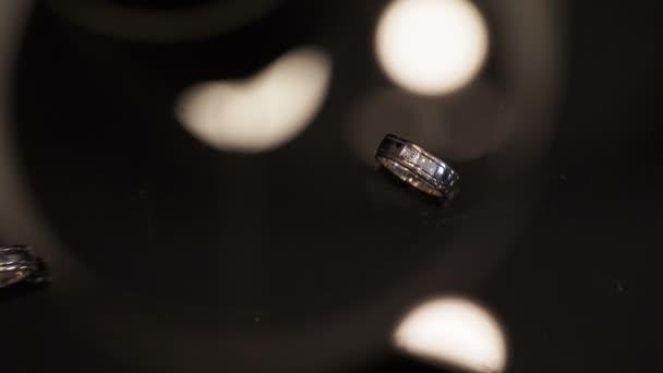 Wedding rings shot
