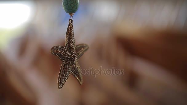 Šperky přívěšek hvězdice