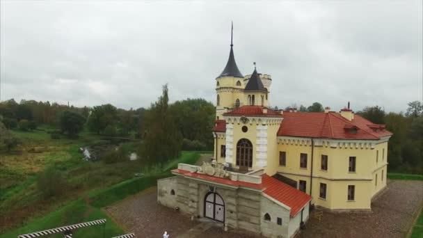 Letecký pohled na pevnost BIP 4k