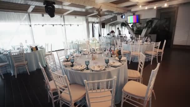 Restaurant decoration for the party