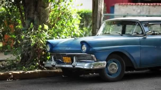 Retro auto v Havaně