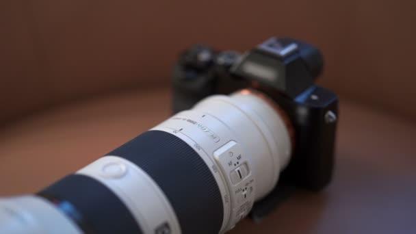 Mirrorless professional camera